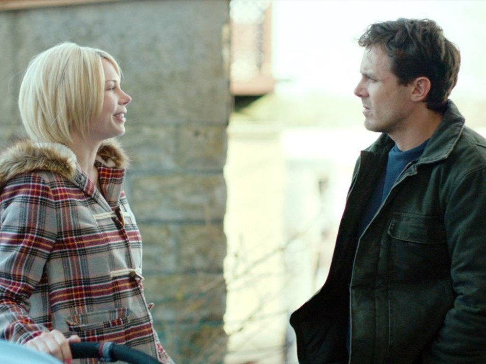 """Casey Affleck y Michelle Williams en """"Manchester by the sea"""""""