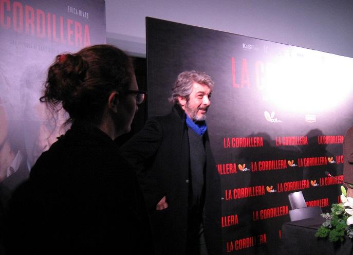 """Ricardo Darín en la presentación de la película """"La Cordillera"""""""