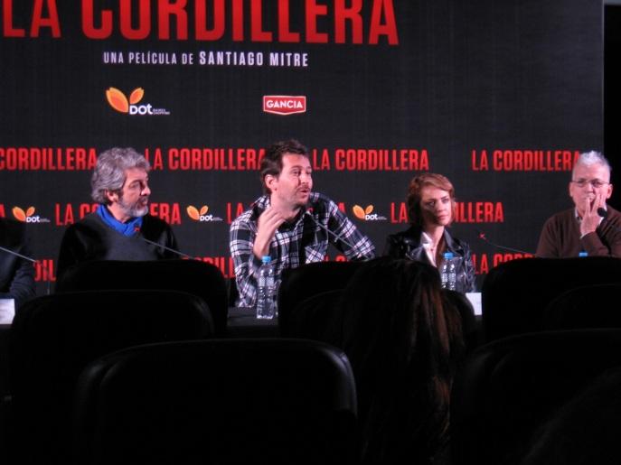 """Presentación de la película """"La Cordillera"""""""